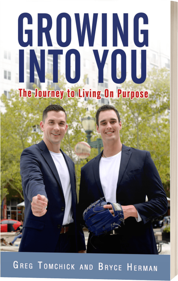 Growing into You Book by Greg Tomchick and Bryce Herman